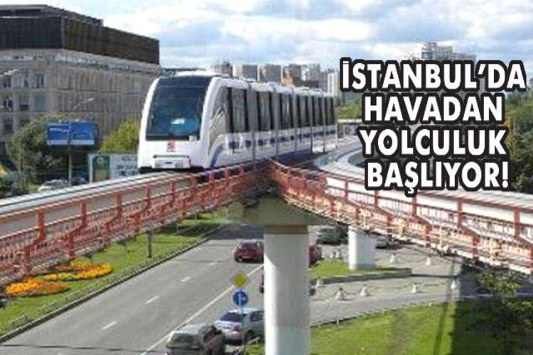 Sefaköy-Halkalı-Başakşehir Havaray hattı ihalesi bugün!