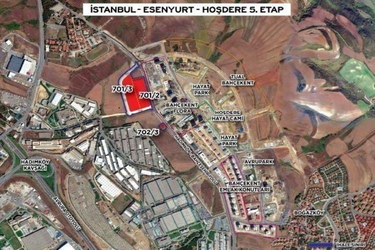 Esenyurt Hoşdere'ye yeni Rezidans projesi geliyor!