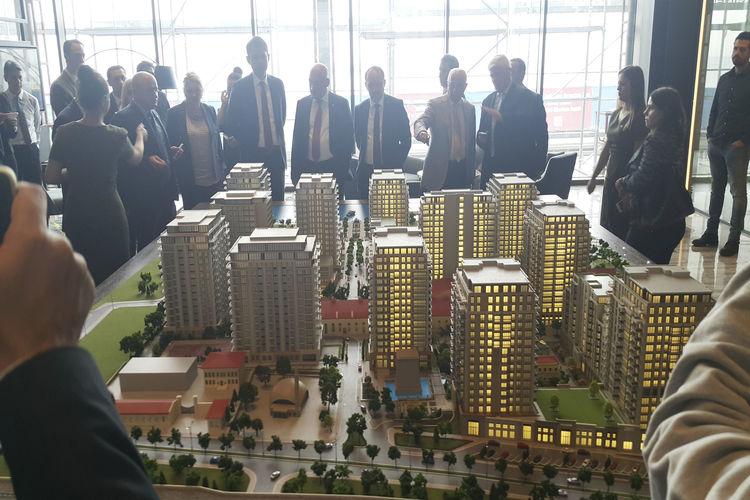 Büyükyalı İstanbul'un 4 farklı örnek dairesi basına tanıtıldı!