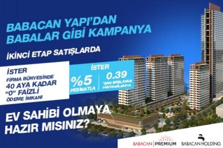 Babacan Premium Tower'da fiyatlar 269 binden başlıyor