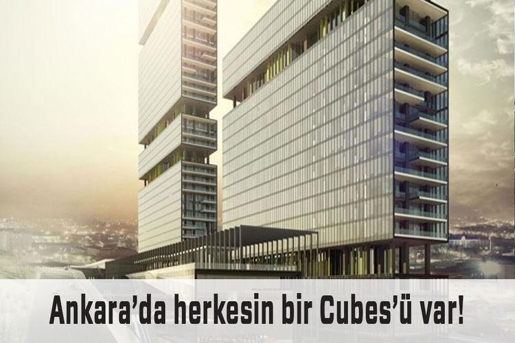 Cubes Ankara ile mekanlarda yenilik!