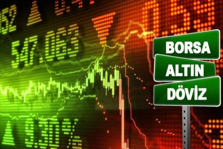 Piyasalarda gün ortası döviz, borsa ve altın