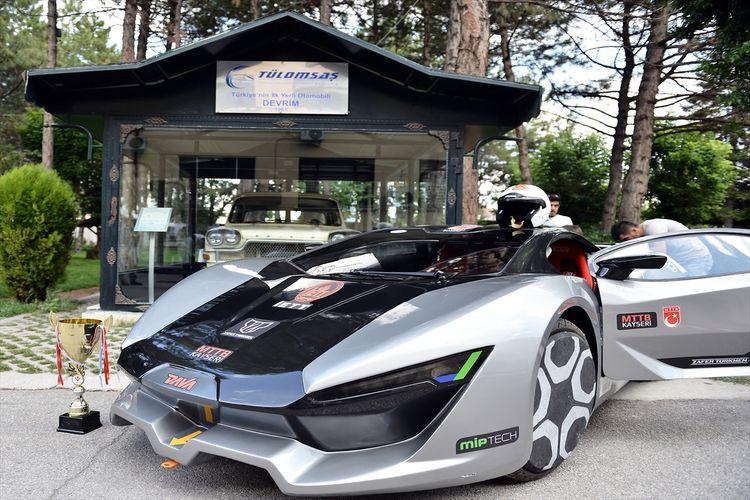 İşte yerli tasarım süper sport otomobilimiz