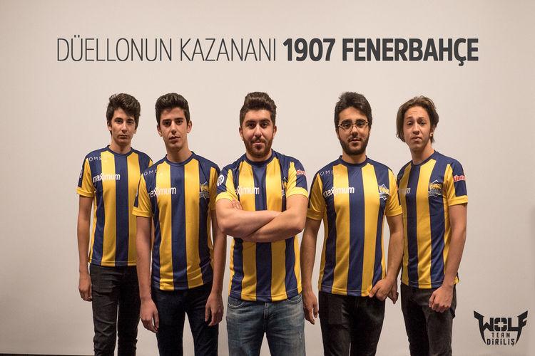 """Wolfteam """"Süper Kupa"""" şampiyonu 1907 Fenerbahçe"""