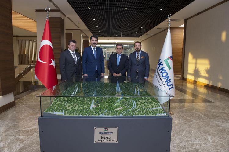 Emlak Konut ve Galatasaray Riva arazisi için imzaları attı