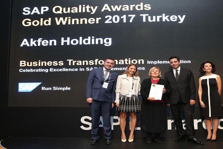 Akfen Holding, 'Kurumsal Dönüşüm Ödülü'nün sahibi oldu