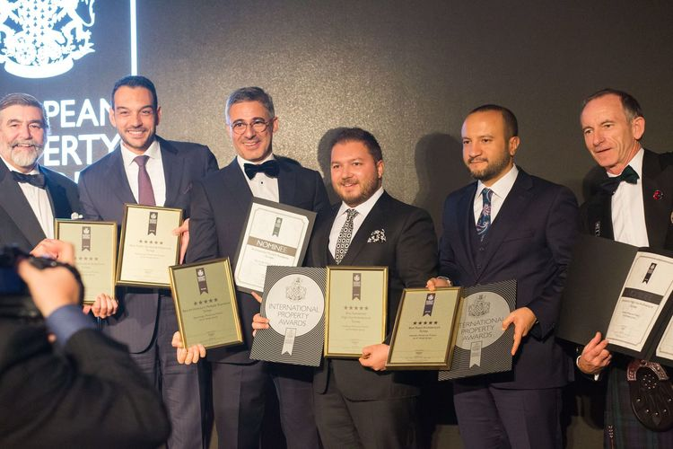 MESA'ya European Property Awards'tan çifte ödül