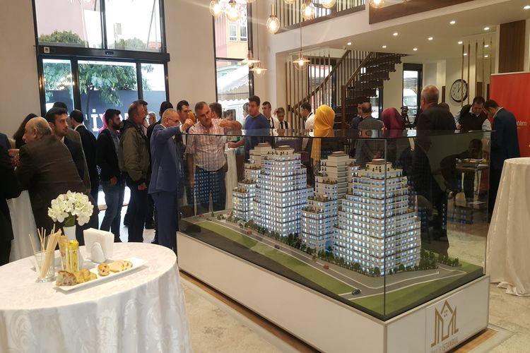 Ömür İstanbul satış ofisinde müşterilerine lansman düzenlendi