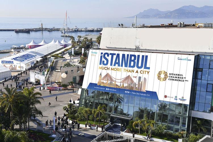 İstanbul'un vitrin projeleri MIPIM'de yerini aldı