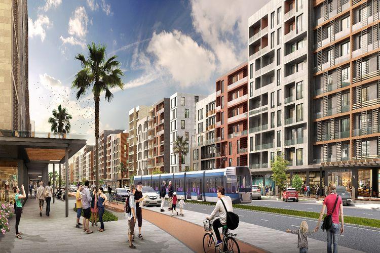 Türkiye'de en büyük kentsel dönüşüm projesi Sur Yapı Antalya'da temeller atıldı