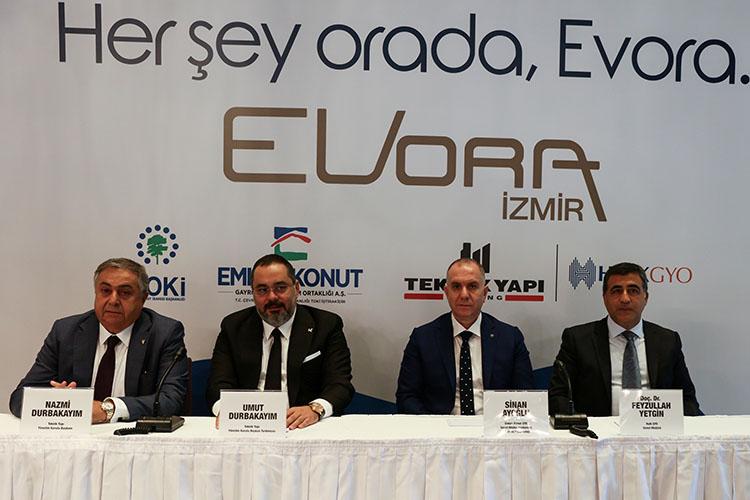 Teknik Yapı-Halk GYO. EVORA İzmir'de ön talep toplamaya başladı