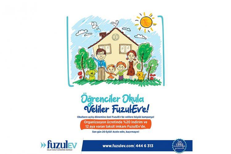 FuzulEv'den 'Okula Dönüş' Kampanyası