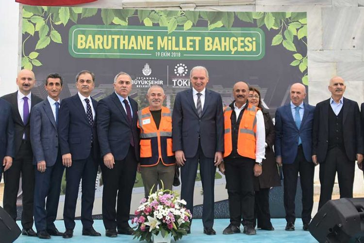 Baruthane Millet Bahçesi'nin açılış tarihi belli oldu