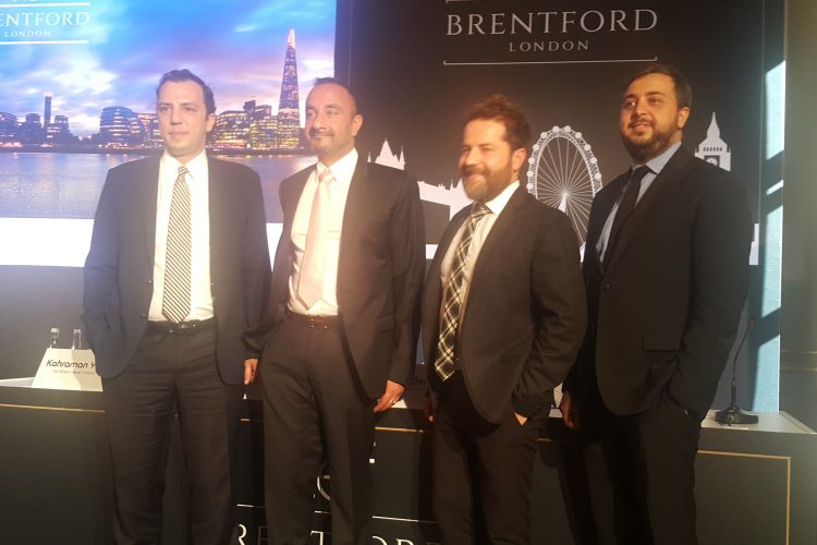 Nef Global ilk projesi İngiltere'deki Brentford'u tanıttı