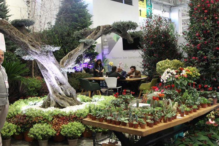 İnşaat projelerine yönelik yeni peyzaj uygulamaları Flower Show İstanbul'da!