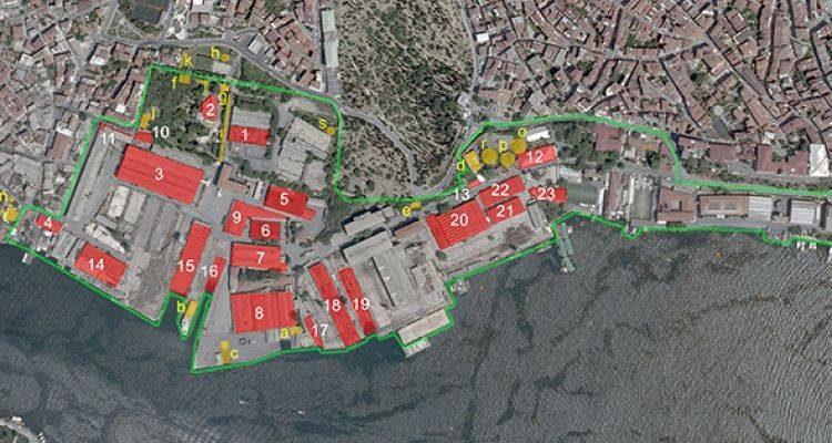 Haliçport imar planı için askıya çıktı