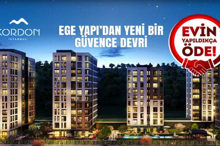 Ege Yapı yeni kampanyası ile bir ilke imza atıyor 'Evin Yapıldıkça Öde'