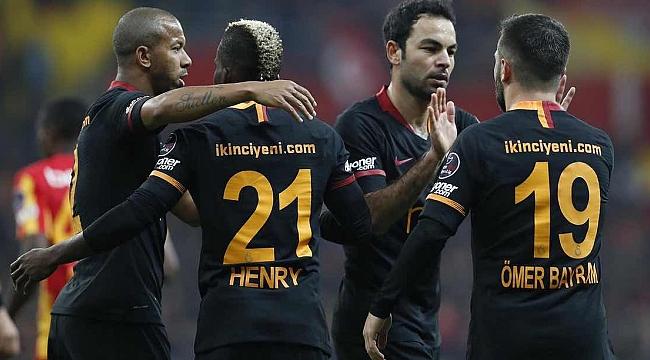 Galatasaray'dan Kayseri'de farklı tempo: 0-3