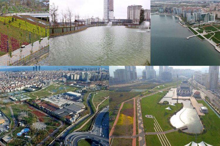 İstanbul'un 5 büyük Millet bahçesi bugün açıldı