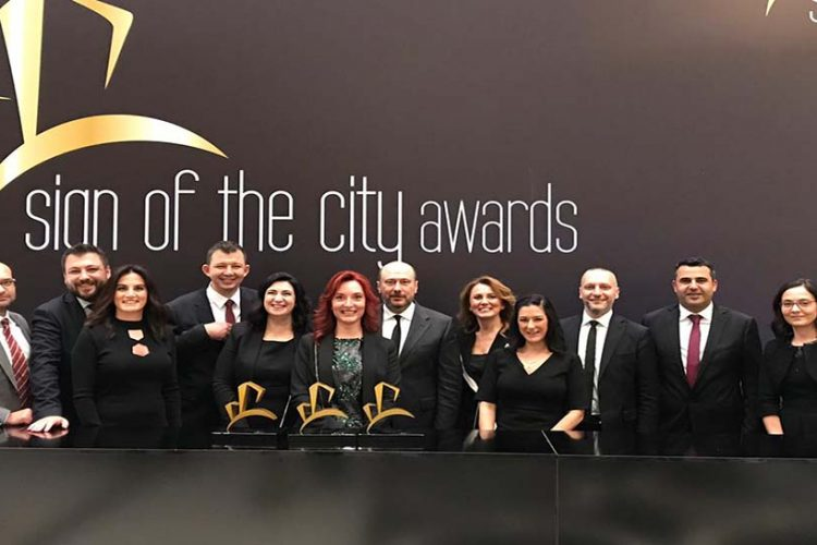 Sign Of The City Awards'da Tahincioğlu Üç Ödül aldı