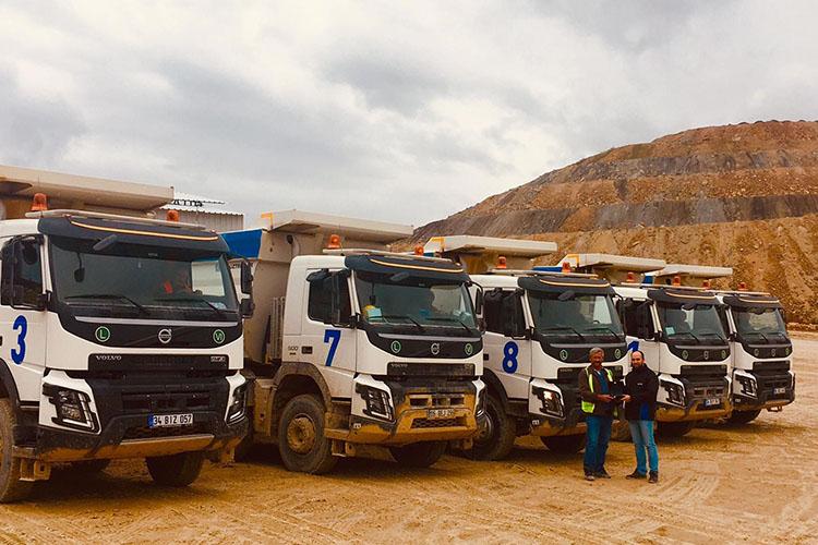 Gökçenay İnşaat, Volvo Trucks FMX 500 kamyonları tercih etti