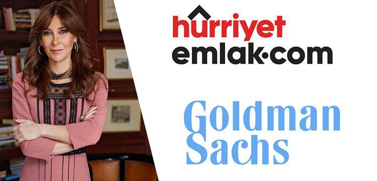 Goldman Sachs Hürriyet Emlak'a ortak oldu