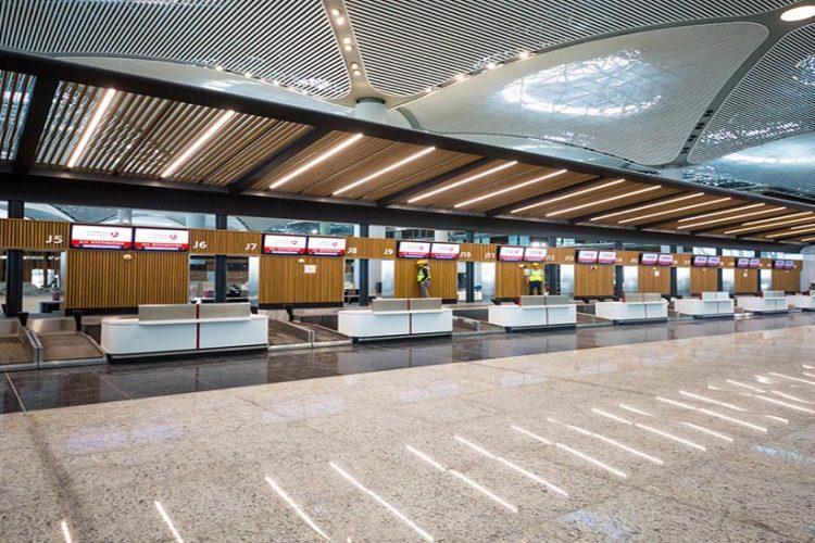 İstanbul Havalimanı'na ahşap tasarım