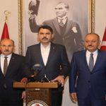 Murat Kurum: Riskli ve kaçak yapıların yıkım sürecini başlattık