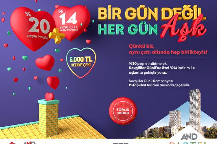2019 Sevgililer Gününde konut kampanyaları
