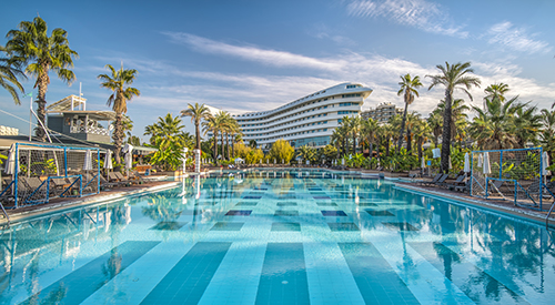 Concorde De Luxe Resort'e'Güvenli Otel' sertifikası verildi