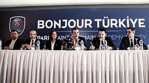 PSG Türkiye'de futbol akademisi PSG Academy Turkey'i açtı