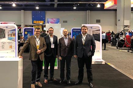 Çimsa, World of Concrete (WOC) 2019'da inşaat ve çimento sektörünün dünya markaları ile bir araya geldi