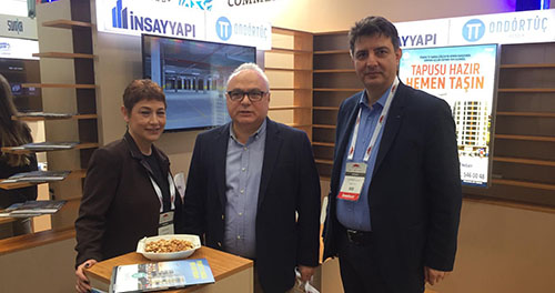 İnsay Yapı, Evim Türkiye Fuarı'ndan mutlu döndü