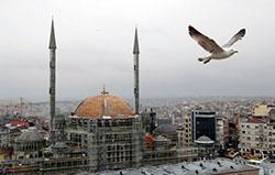 Taksim Cami'nin son hali