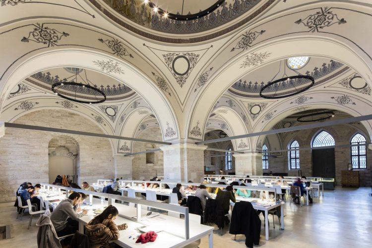 Dünyanın en güzel 10 modern kütüphanesi arasında yer aldı