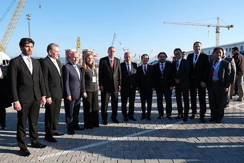 Cumhurbaşkanı Recep Tayyip Erdoğan, 1915 Çanakkale Köprüsü'nü ziyaret etti