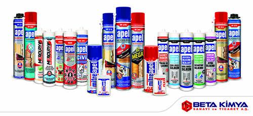 Beta Kimya A.Ş., Avrasya Pencere Fuarı'nda yeni ürünleriyle boy gösterecek.