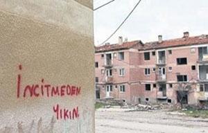 Burdur Depremevleri Konutları'nda yıkımlara başlanacak!