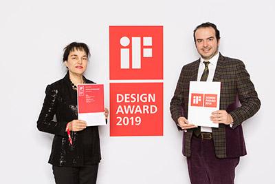 Güral Vit Double Deck ile İf Design Award 2019'a ödül aldı