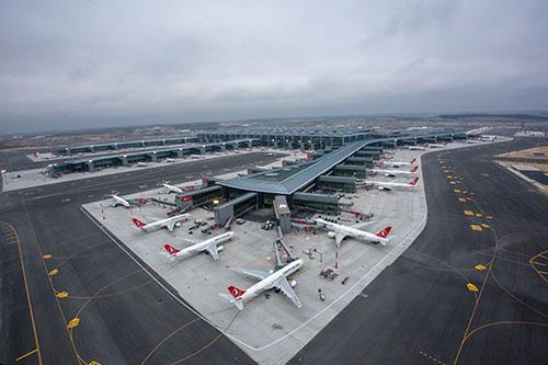 İstanbul Havalimanı, tüm detayları ile CNN International'da