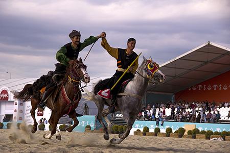 Etnospor Kültür Festivali'nde geleneksel sporların heyecenı devam ediyor