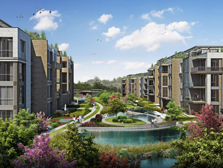 MESA ORMAN örnek dairesi ile doğayla iç içe bir yaşama davet ediyor