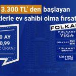 Folkart projelerinde 180 ay 0.99 vade oranı ile fısatlar