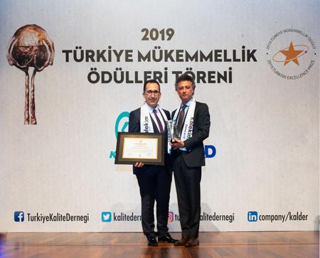 Kalekim Türkiye'nin 1 numarası oldu