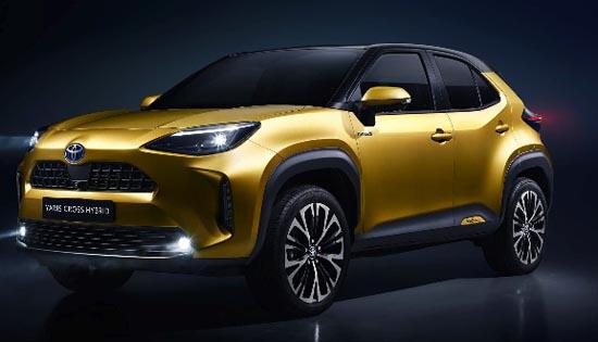 Toyota'nın yeni Toyota Yaris Cross'u tanıtıldı