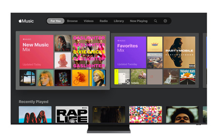 Samsung, Apple Music'i Smart TV'sine taşıdı!