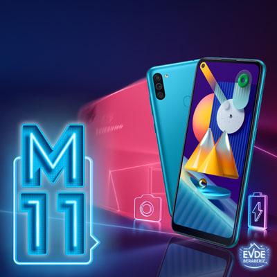 Samsung Galaxy M11 artık Türkiye'de de satışa çıktı!