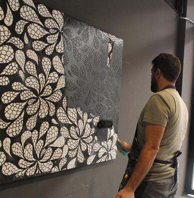 San Deco Stencil Serisi Sanatın İzi Duvarlarınızda Kalsın