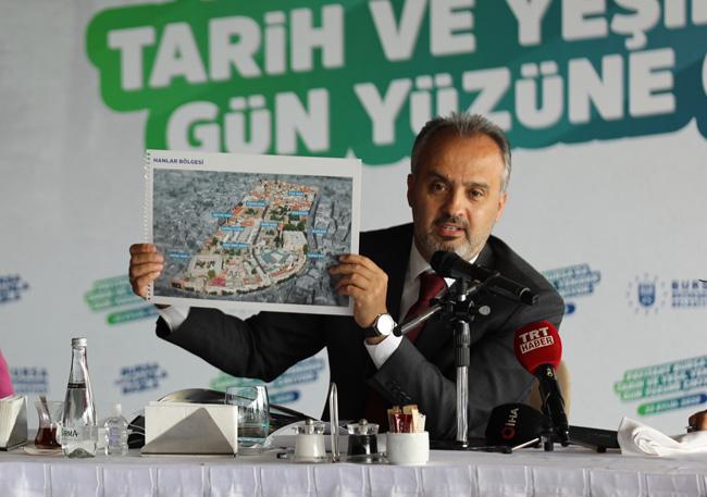 Bursa'da kentsel dönüşümle 20 bin konut yenileniyor