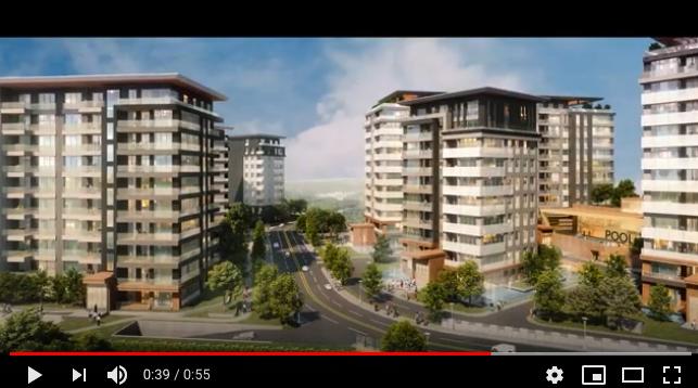 Avrupa Konutları Çamlıvadi projesi tanıtım videosu